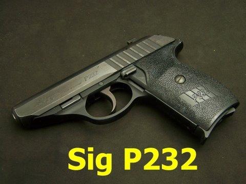 Sig Sauer P232 380 Semi-Auto pistol reivew