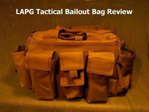 LAPG Tactical Bailout Bag Review