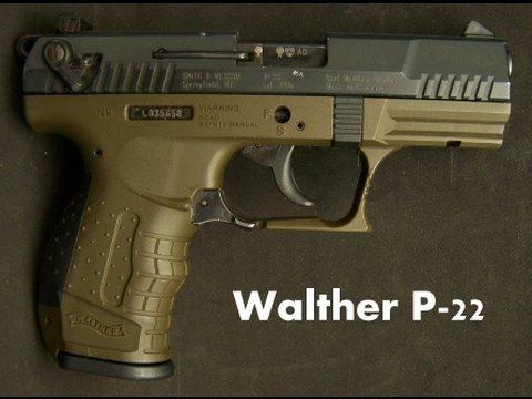 Walther P 22 Semi-Auto Pistol review