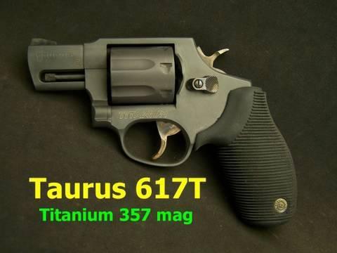 Taurus Model 617T 357 Magnum Titanium Revolver