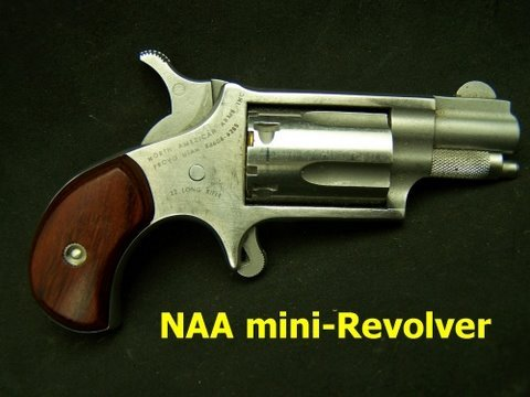 NAA Mini Revolver Get Off me Gun!
