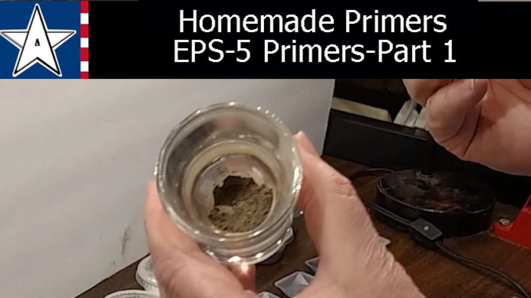 Reloading Primers:  Homemade Primer Compound EPS5.