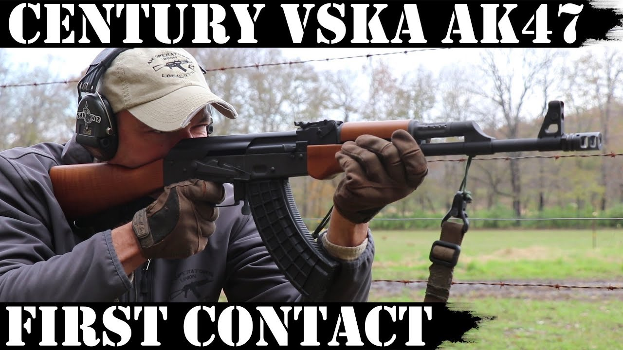 Century Arms VSKA AK47: First Contact, zeroing and shots past 300yds