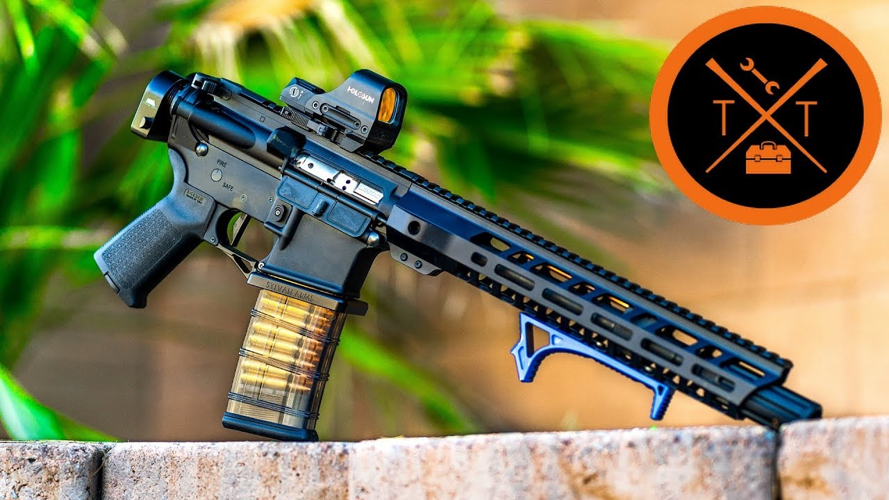 AR 15 Build 2019 // STOOPID CHEAP & FAST! (w/Links in Description)