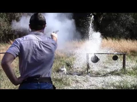 Shooting The Pietta 1851 Navy .44 Black Powder Revolver