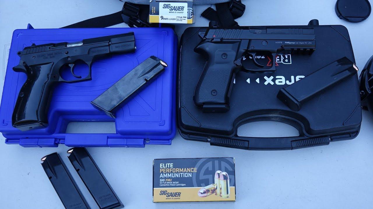 Arex ReX Zero 1s vs Sarsilmaz Mega 2000 9mm