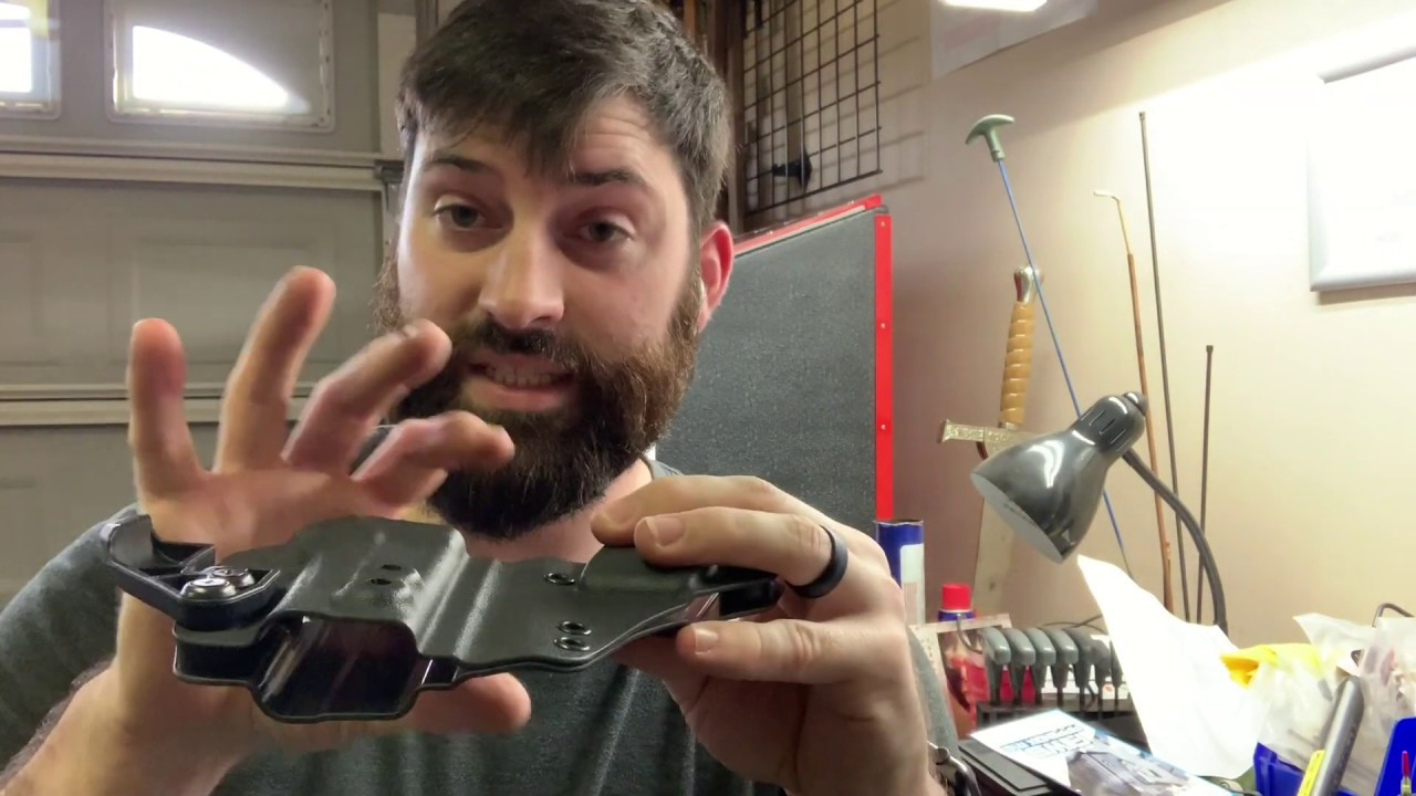 Glock 43X Spider Concealment Holster Mod