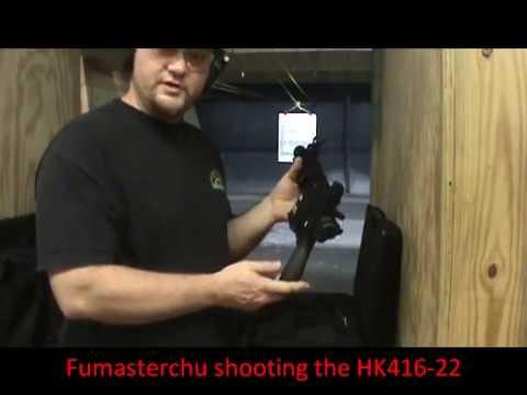 HK 416-22 @ the Range!