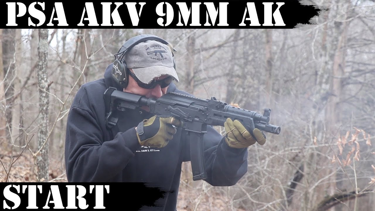 PSA AKv - 9mm AK: It starts now...