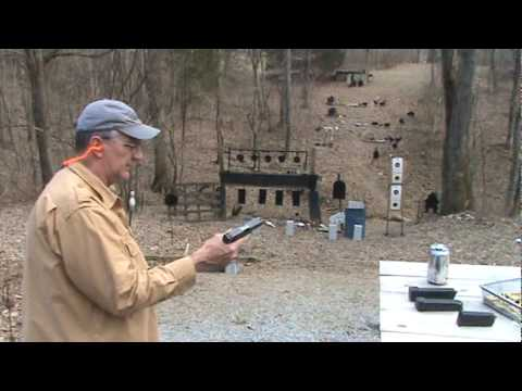 Glock 20 with heavy cast bullets