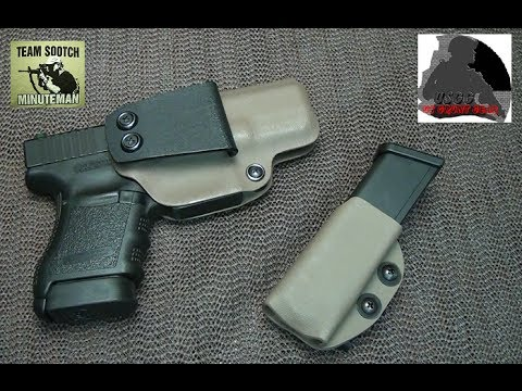 The Best Appendix Carry Holster for the Glock Pistols
