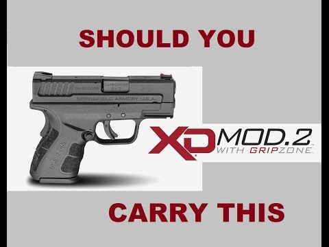 Springfield XD Mod 2 9mm Unboxing