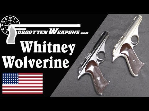 Whitney Wolverine: Atomic Age Design in a .22 Rimfire