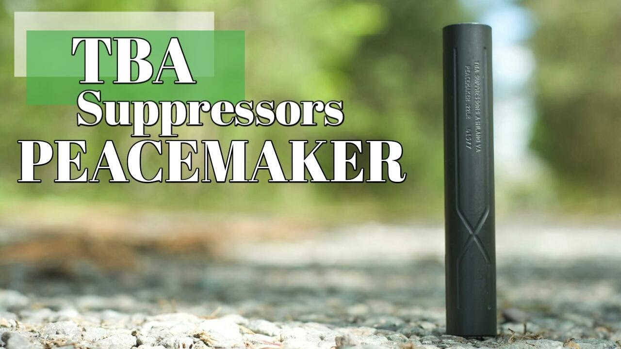 TBA Suppressors Peacemaker