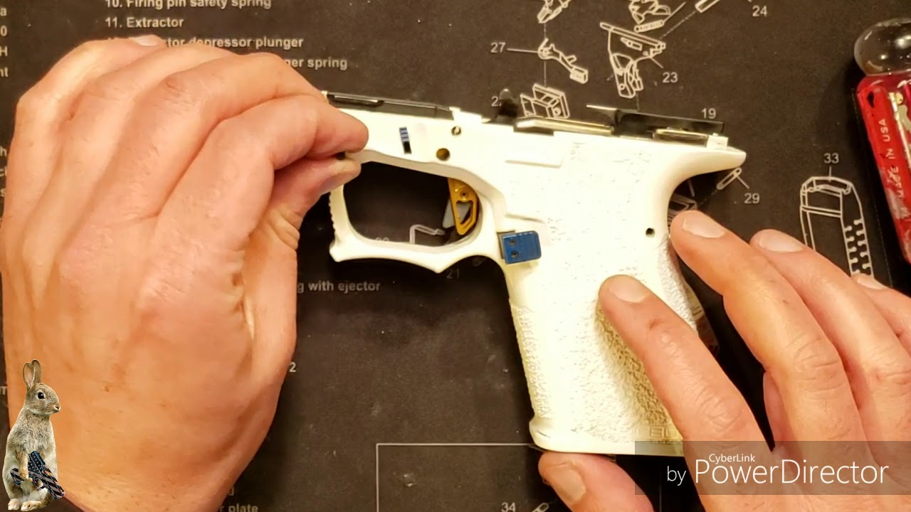 Aftermarket Trigger Shoe Installation on factory bar, Assembly in Frame, Review, and Test