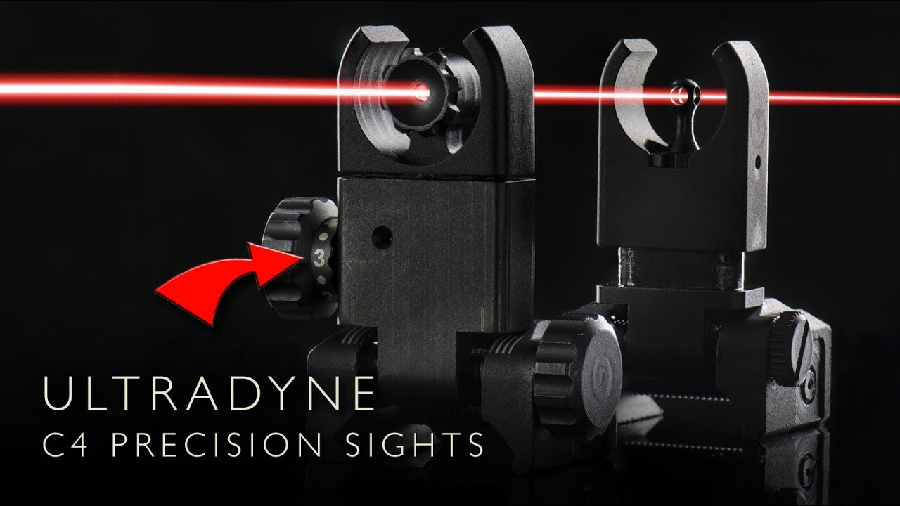 Ultradyne C4 Precision Iron Sights