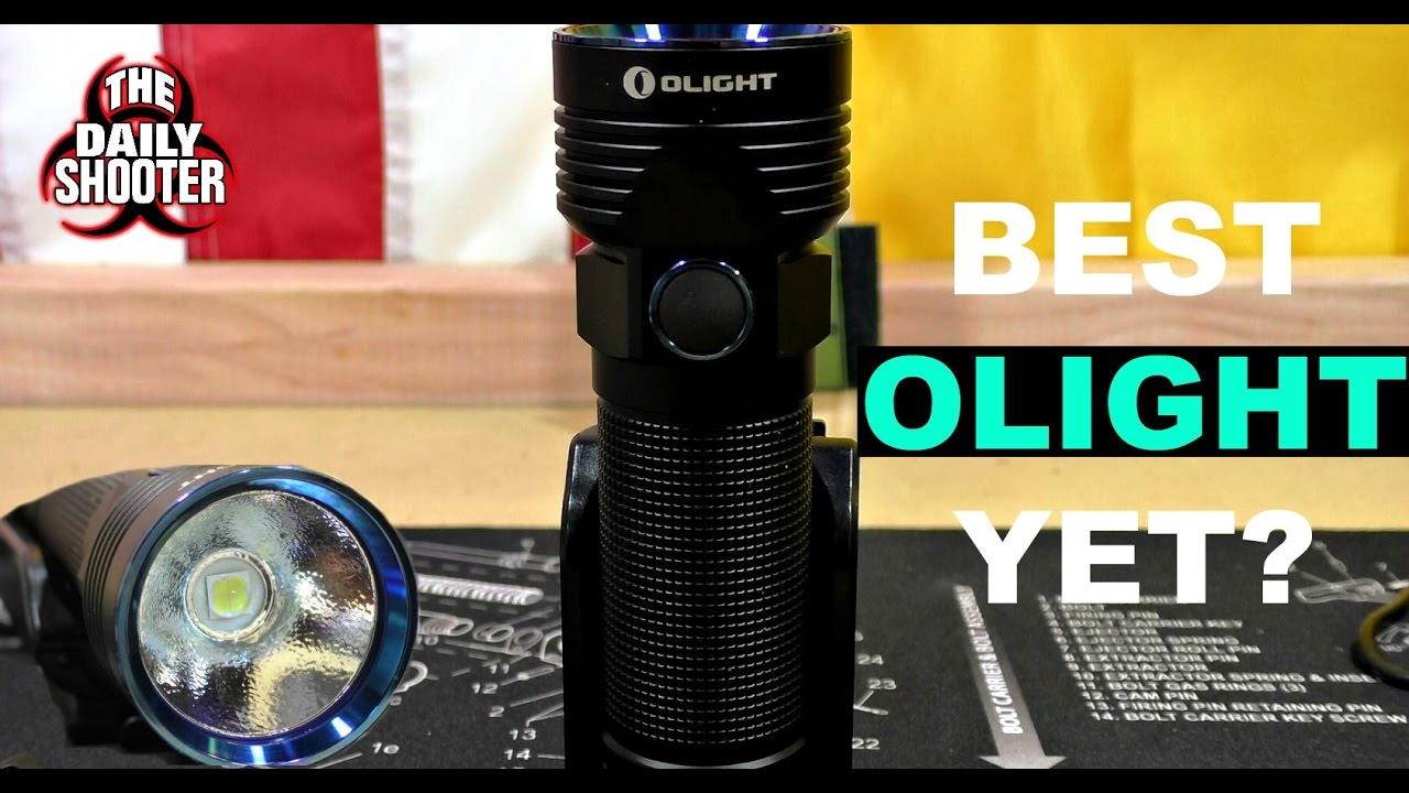 Olight R50 PRO SEEKER with LE KIT Review