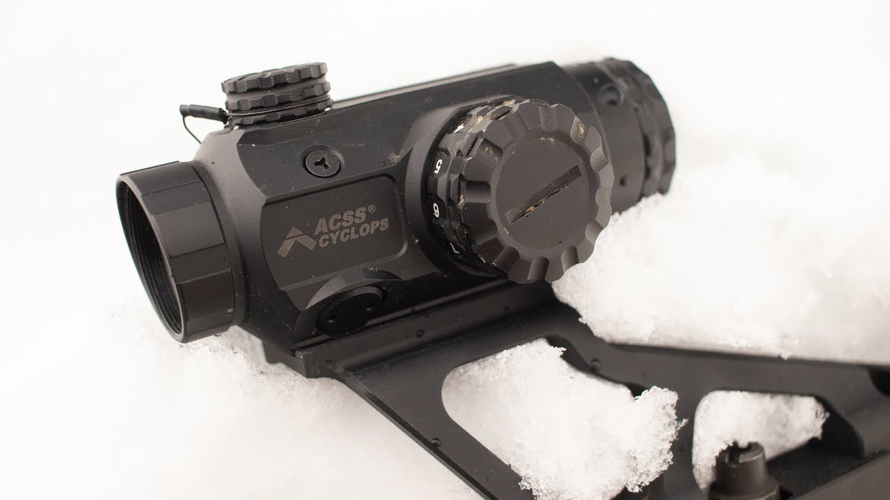 Better Than A Red Dot? Primary Arms Cyclops Review