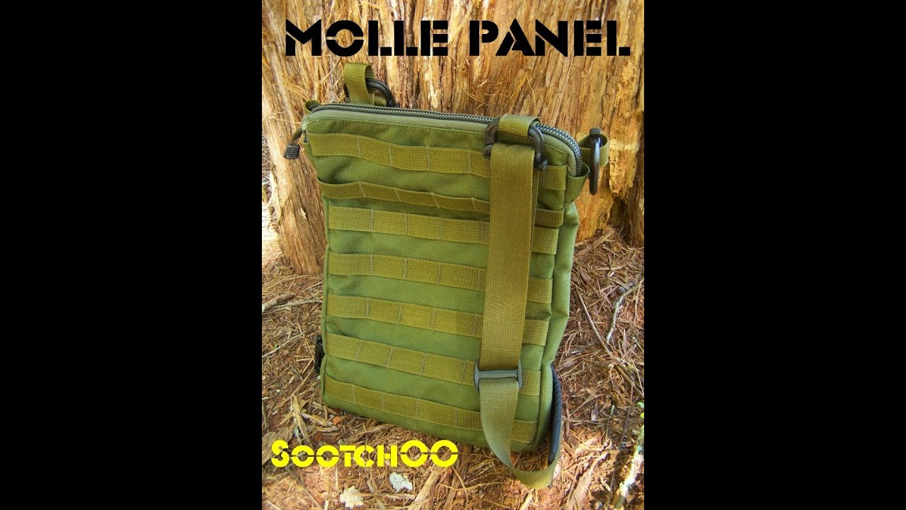 The Molle Panel : Tactical Bag