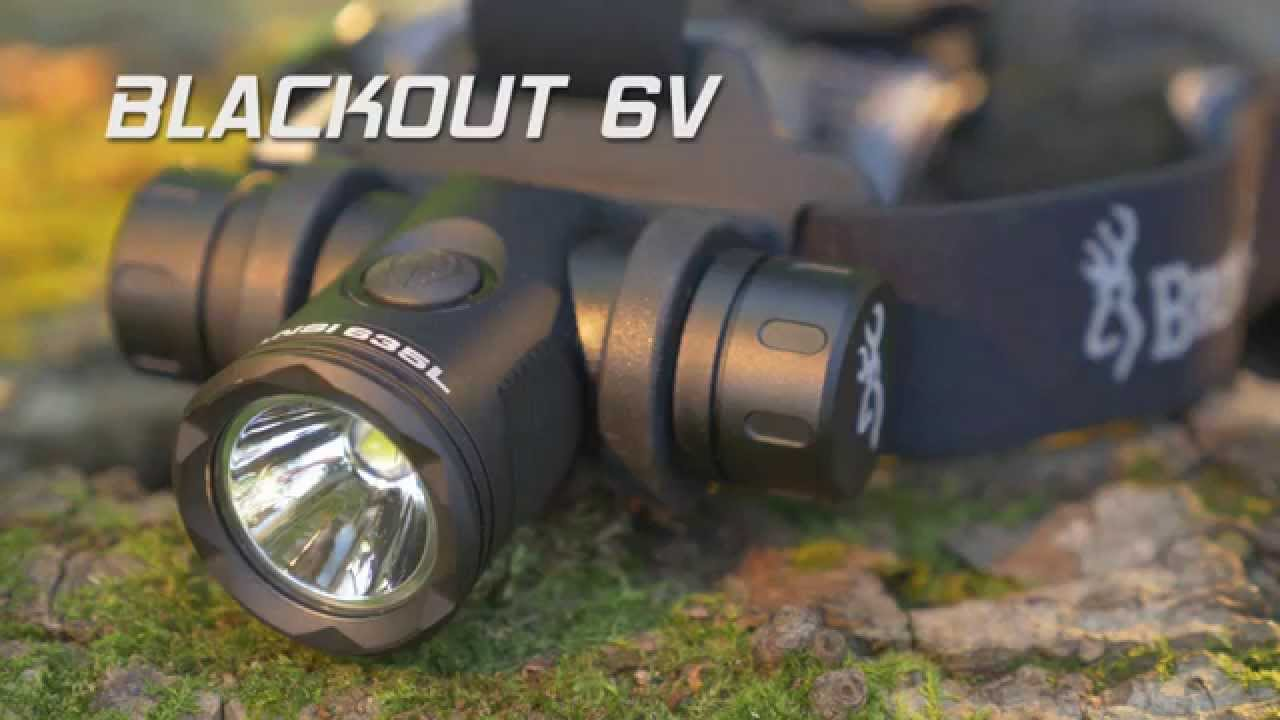 Browning Blackout 6V Headlamp V2
