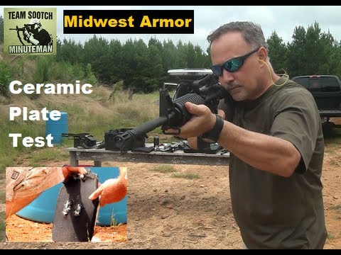 Ceramic Body Armor Testing: Midwest Armor Guardian IV Plates