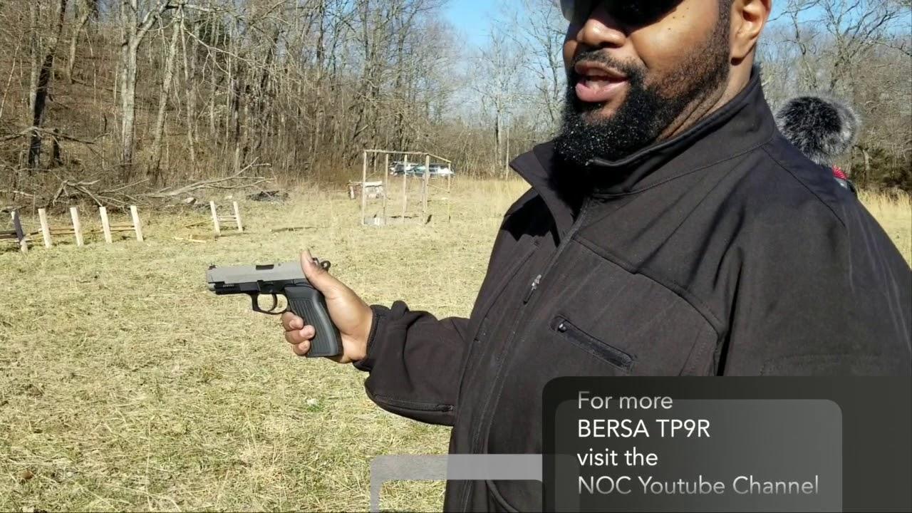 Bersa TP9R Takedown - Easier Than A Glock?