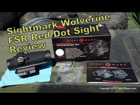Sightmark Wolverine FSR Red Dot Sight Review
