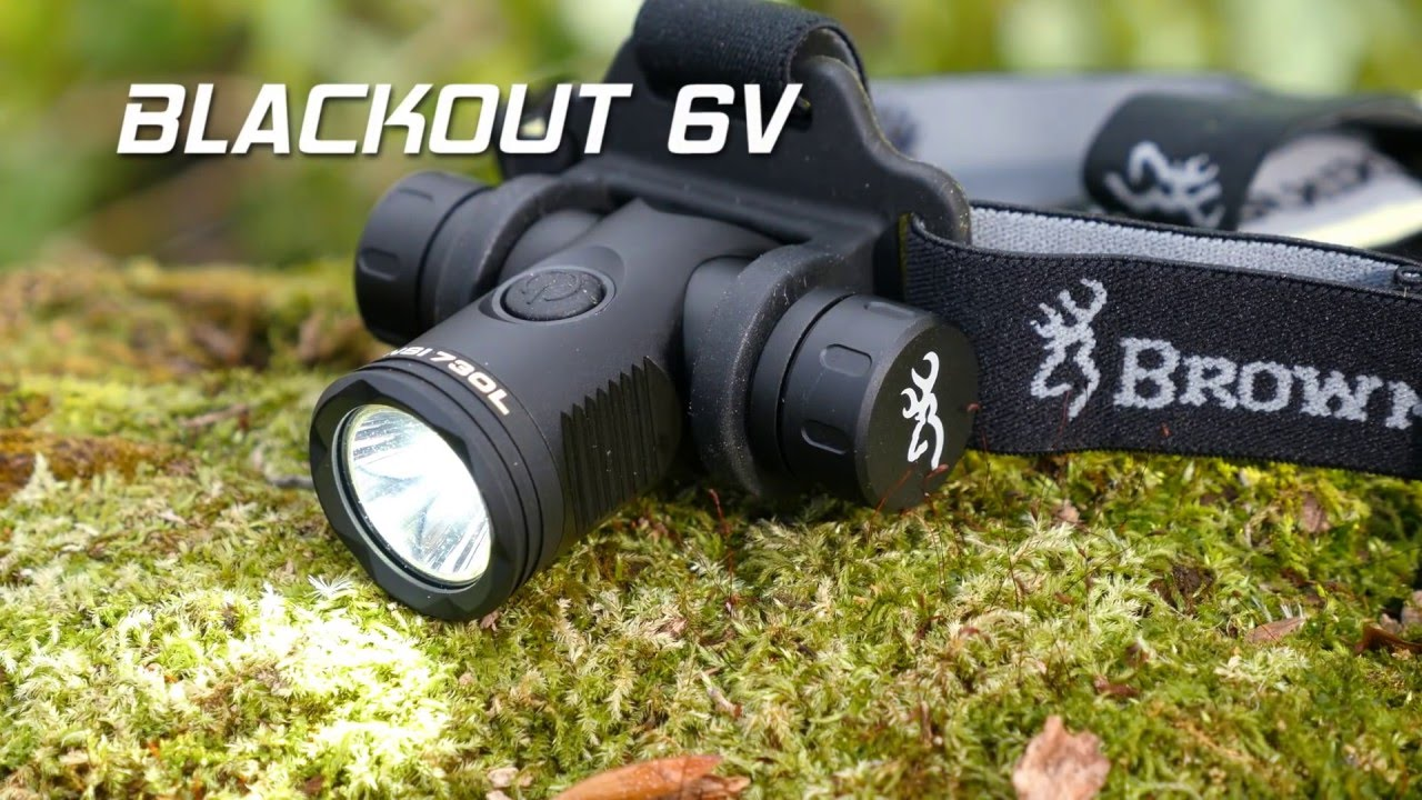 Blackout 6V Headlamp -- SHOT  Show 2016