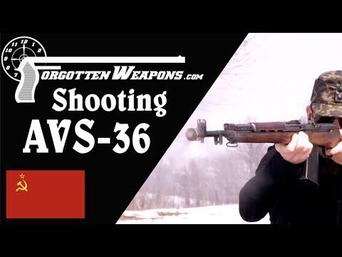 The Soviet Jackhammer: Shooting an AVS-36