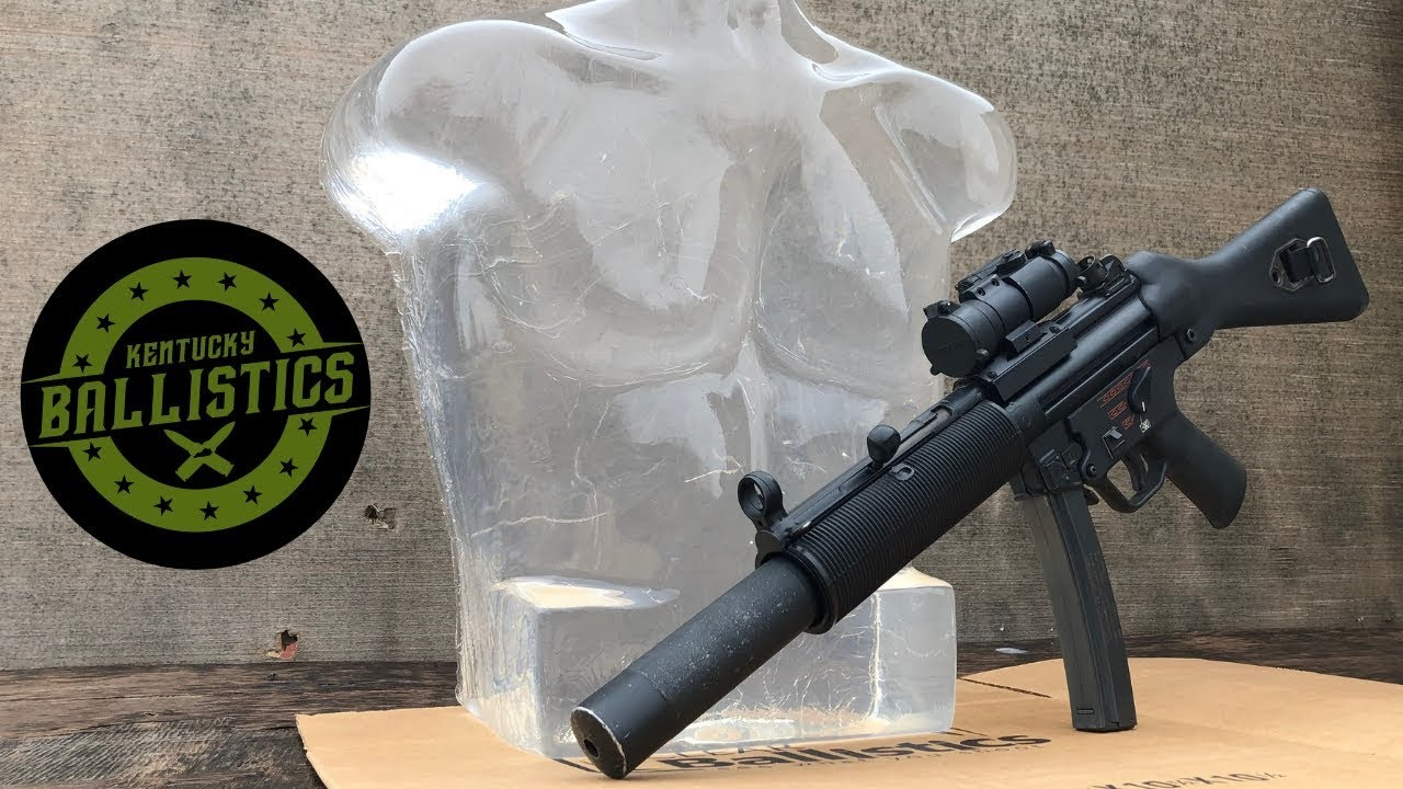 MP5 vs Ballistic Gel Torso (Full Auto Friday)