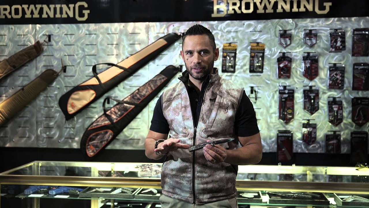 2016 SHOT Show Browning Knives - Abrupt Edge -Jared Wihongi
