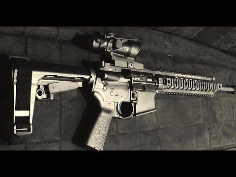 KAC 300 AAC Blackout AR-15 Pistol Build (Palmetto State Armory)