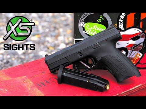 XS F8 Sights CZ P10c