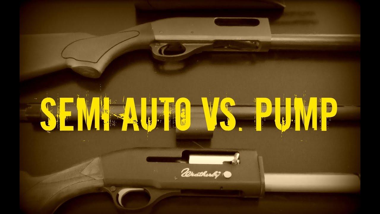 Semi Auto vs. Pump Shotgun for defense and bug out