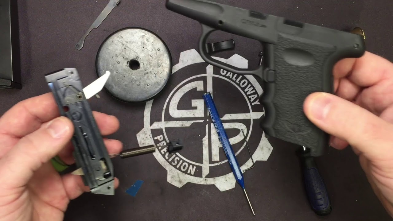 SCCY Short Stroke Trigger Kit for CPX-3 Installation
