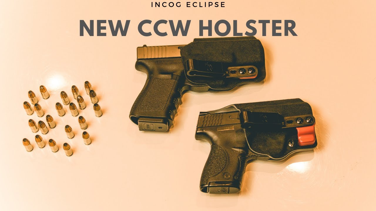 INCOG Eclipse IWB CCW Holster by G-Code