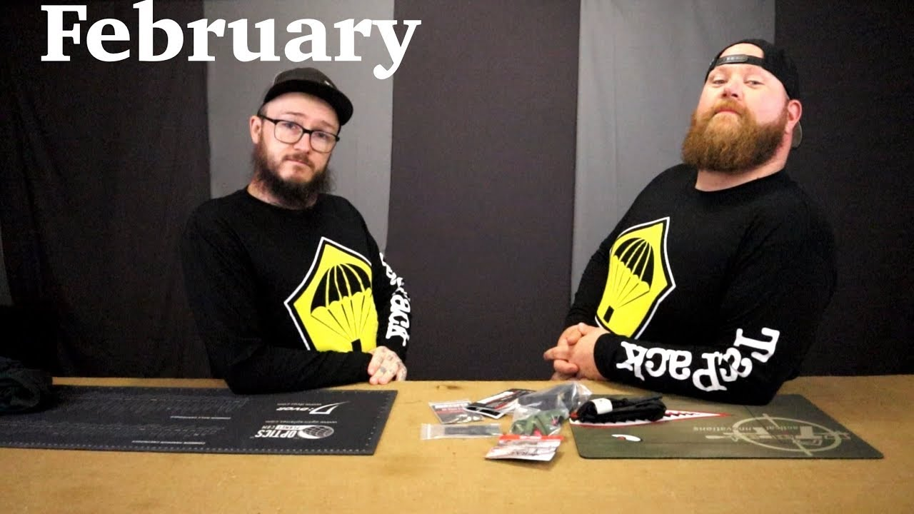February TacPack Unboxing