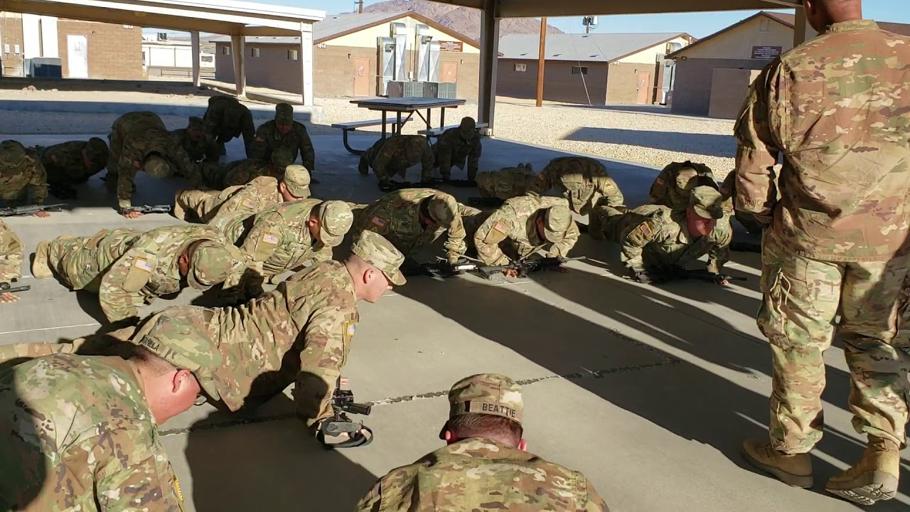 What happens when soldiers don't listen