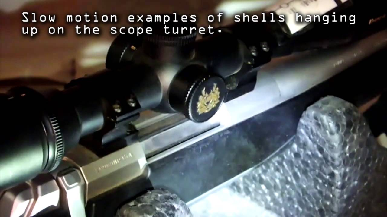 X-Bolt Rifle Shell Ejection Blocked By Scope Turret  - Solved
