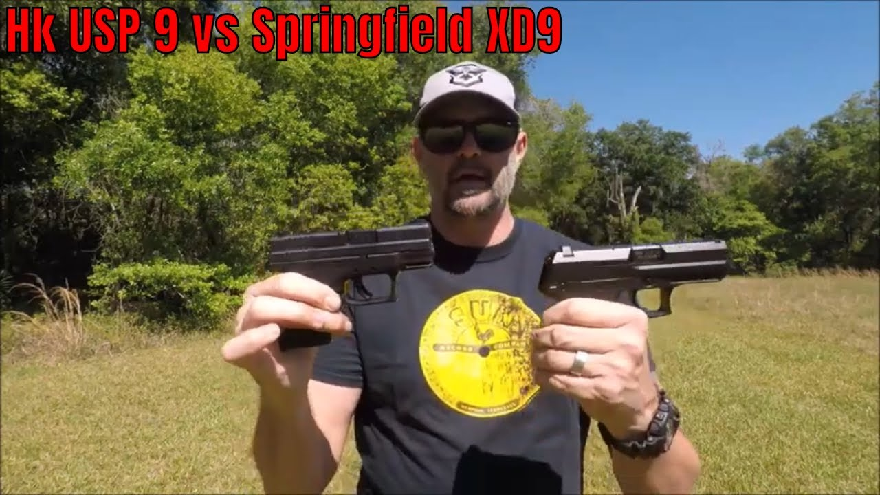 HK USP 9 vs Springfield XD9