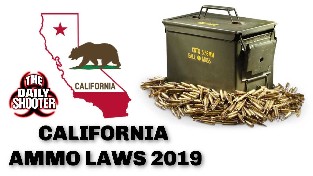 California Ammo Law Coming in 2019! Get Ready