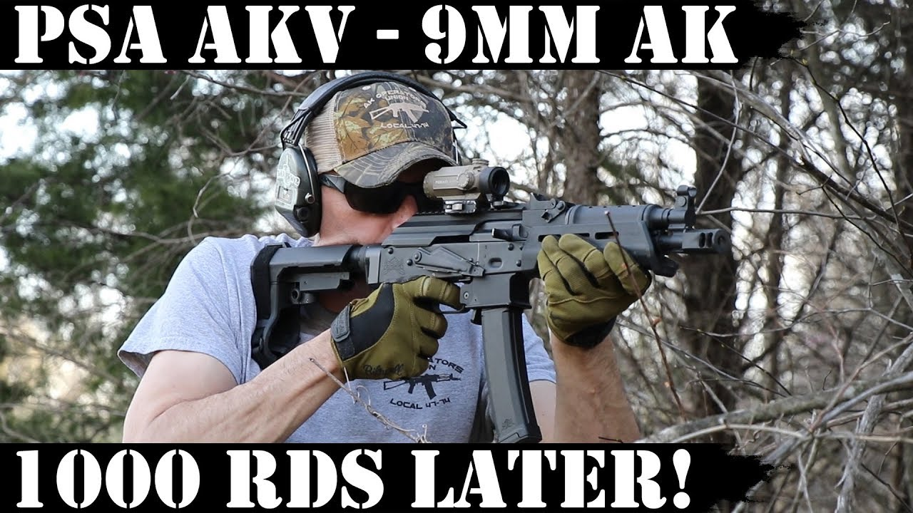 PSA AKV - 9mm AK: 1,000rds later!