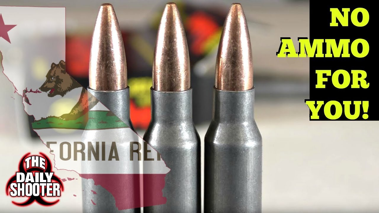 California Ammogeddon is Here! Goodbye Ammo