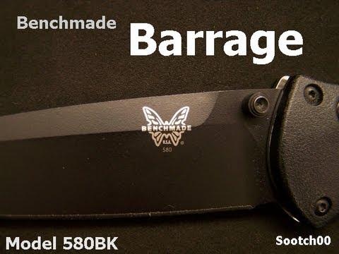 Benchmade Knife : Barrage 580