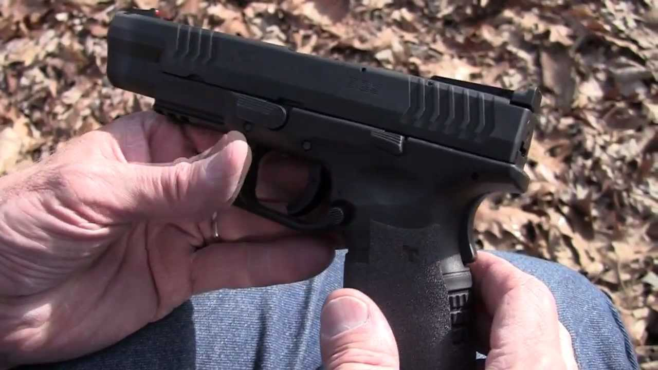 Springfield  XDm  5.25  in  45 ACP    Close-up