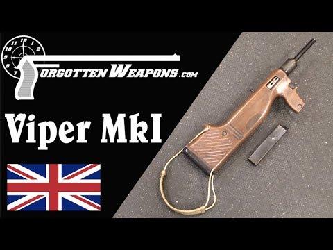 Viper MkI: A Simplified Steampunk Sten