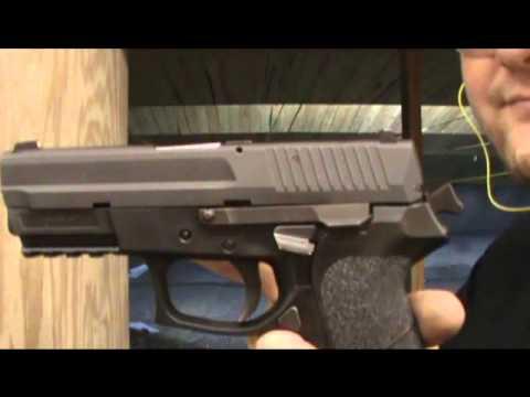 Sig 2022, XD40 V10 & S&W M&P 15-22 at the range.