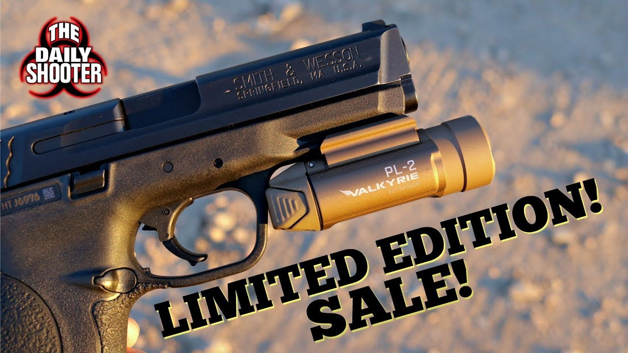 Limited Edition Desert Tan Olight PL-2 Sale!! One Time Only!