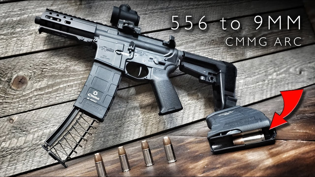 PMAG 9mm Conversion (556 to 9mm) - CMMG 9 ARC