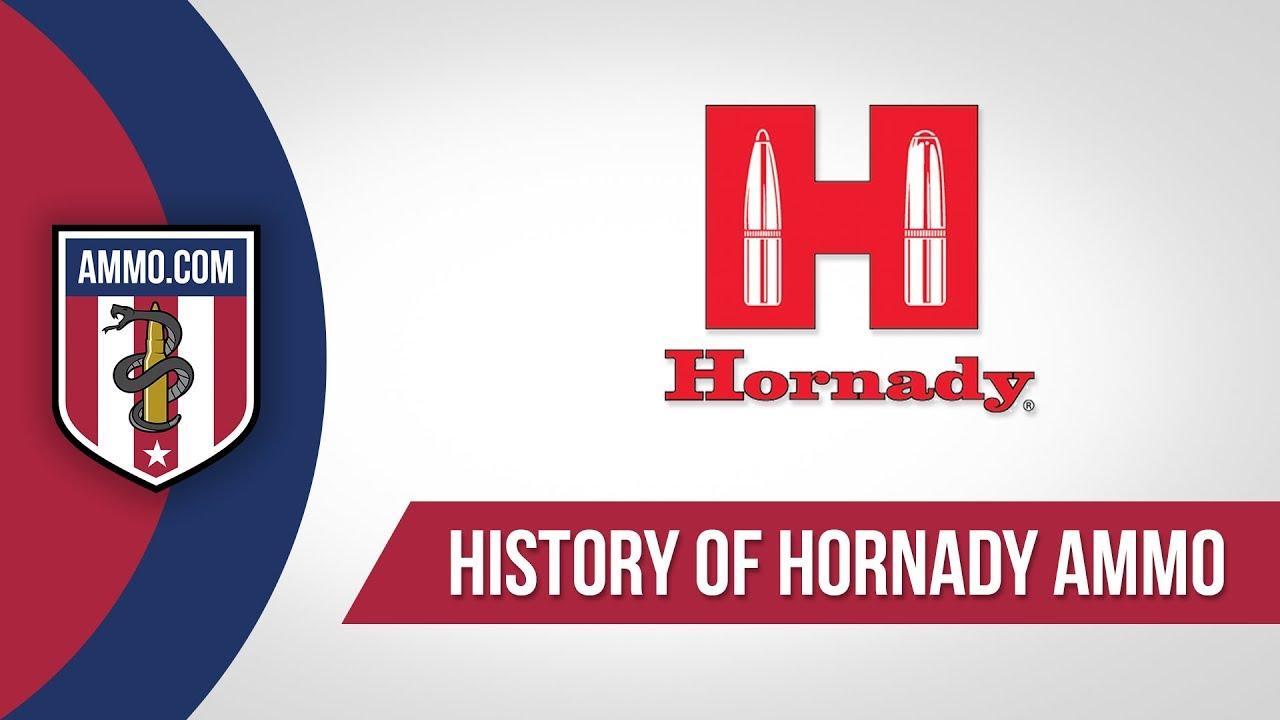 Hornady Ammo - History